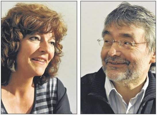 Isabelle Ruf-Weber, directrice de La Landwehr, face à Jean-Claude Kolly, directeur de La Concordia / Photo Vincent Murith